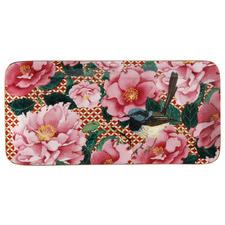 Cherry Red Teas & C's Silk Road 25cm Rectangular Platters (Set of 3)
