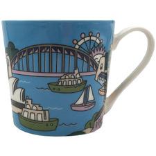 Sydney Megan Mckean Cities 430ml Mug
