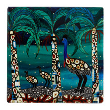 Cassowaries Home Melanie Hava Jugaig-Bana-Wabu Ceramic Coasters (Set of 6)