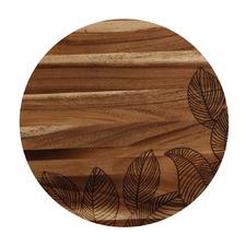 Panama 36cm Round Acacia Serving Board