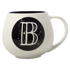 The Letterettes B 450ml Porcelain Snug Mug