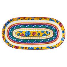 Rhapsody 33cm Oval Ceramic Platter
