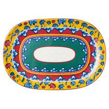 Rhapsody 40cm Oval Ceramic Platter