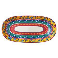 Rhapsody 43cm Oval Ceramic Platter