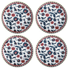 Maxwell & Williams Red Rhapsody 27cm Dinner Plates (Set of 4)