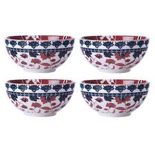 Maxwell & Williams Multi-Coloured Rhapsody 15cm Bowls (Set of 4)