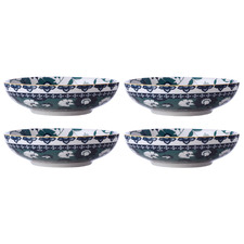 Maxwell & Williams Green Rhapsody 20ml Coupe Bowls (Set of 4)