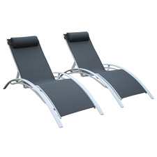 Estelle Sun Loungers (Set of 2)