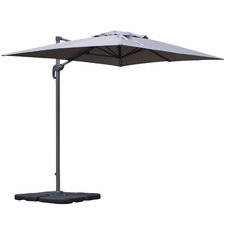 3 x 2m Marseille Cantilever Umbrella