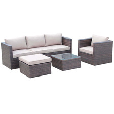 5 Seater Benito Outdoor Sectional Lounge Set