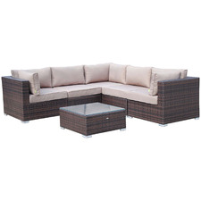 5 Seater Napoli Outdoor Sectional Lounge Set