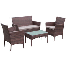 4 Seater Moltes Outdoor Sofa Set