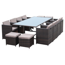 12 Seater Iluka Outdoor Dining Set