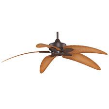 Bronze Base Flurry Ceiling Fan