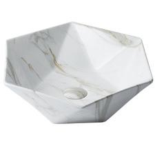 Regency Hexagonal Ceramic Basin