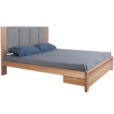 Natural Bahama Tasmanian Oak Bed with Storage
