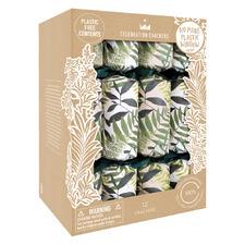 12 Piece Natural Sprigs Christmas Cracker Set