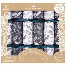 6 Piece Tropical Birds Christmas Cracker Set