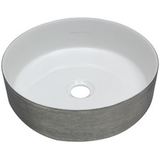 Brushed Paco Ceramic Basin