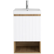 Wall Mounted Norfolk Vanity with Ceramic Basin