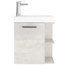 Wall Mounted York Vanity with Acrylic Basin