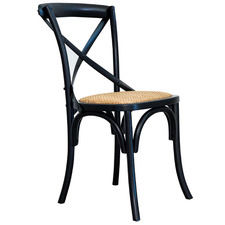 Desma Crossback Rattan Dining Chair
