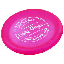 30cm Lazy Dayz Inflatable Frisbee