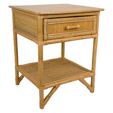 Danara Rattan Bedside Table