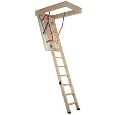 Pine Wood Attic Ladder