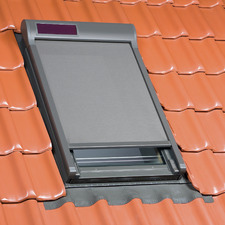 Solar Powered External Skylight Blinds