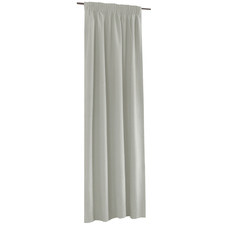 White Alyssa Pencil Pleat Blockout Curtains (Set of 2)