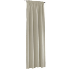 Stone Alyssa Pencil Pleat Blockout Curtains (Set of 2)