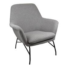 Grey Eden Upholstered Armchair