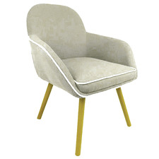 Taupe Tathra Upholstered Armchair