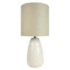 Fan Ceramic Table Lamp (Set of 2)