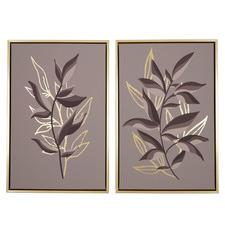 Cecily Framed Canvas Wall Art Diptych