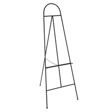 Black Evans Tall Metal Easel