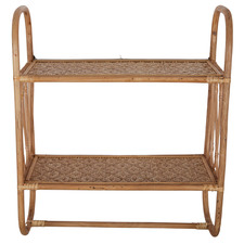Natural Oliana Shelving Unit