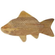 Fyfe Fish 46cm Mango Wood Serving Board