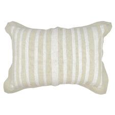 Nina Embroidered Cotton Cushion