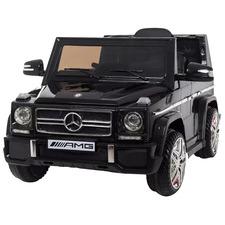Kids' Black Mercedes Benz AMG G65 Jeep Ride-On Car