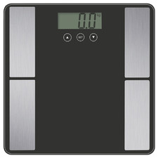 Black Fit Smart Electronic Body Scale