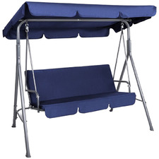 3 Seater Anton Outdoor Canopy Swing Chair