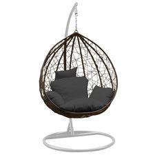 Arcon Teardrop PE Rattan Outdoor Hanging Egg Chair
