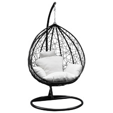 Arcon Teardrop PE Rattan Outdoor Hanging Egg Chair