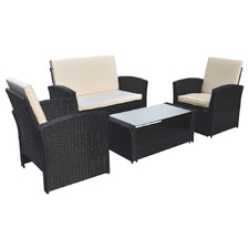 4 Seater Arcon PE Rattan Outdoor Sofa Set