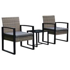 Arcon PE Rattan Outdoor 2 Person Lounge Set