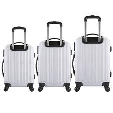 3 Piece Luxury Shock-Resistant Luggage Set