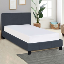 Charcoal Sienna Luxury Bed Frame