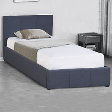 Charcoal Milano Luxury Gas Lift Storage Bed